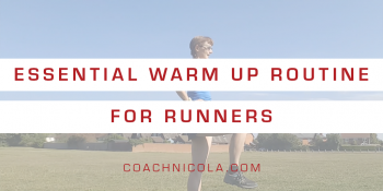Essential warm up routine for runners