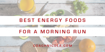 Best Energy Foods for a Morning Run